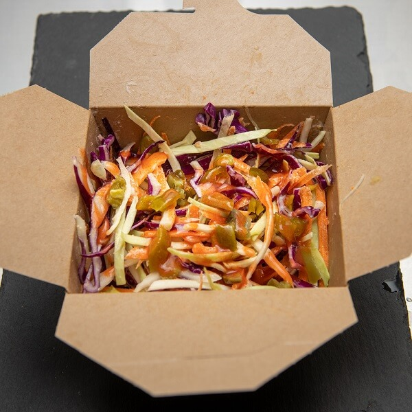 box of fiery slaw